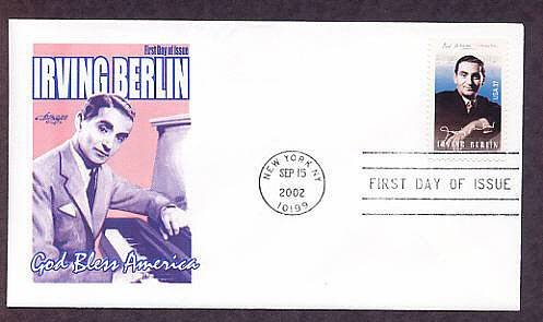 Honoring Legendary Songwriter Irving Berlin, AM First Issue USA