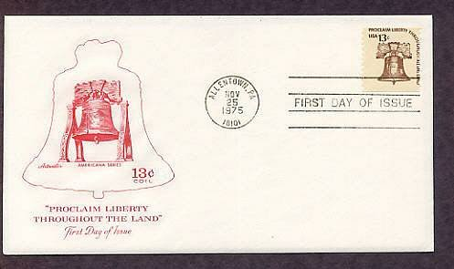 Liberty Bell, Symbol of America's Fight for Independence During the Revolution, AM First Issue USA