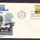 Aberdeen Black Angus, Cattle, Western Beef, Fleetwood First Issue USA
