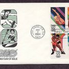 Summer Olympics 1984, Diving, Long Jump, Wrestling, Kayak, First Issue USA