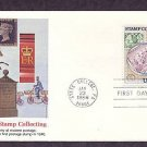 Stamp Collecting, Romance of Stamp Collecting, Great Britain, First Issue FDC USA