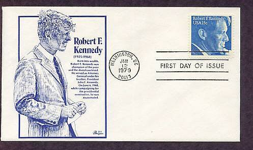 Senator Robert F. Kennedy, Attorney General, 1979 First Issue USA
