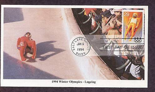 1994 Winter Olympics, Luge, First Issue USA
