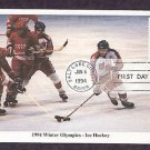 1994 Winter Olympics, Ice Hockey, First Issue USA