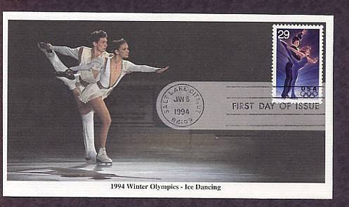 1994 Winter Olympics, Ice Dancing, First Issue USA