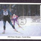 1994 Winter Olympics, Nordic Skiing, First Issue USA