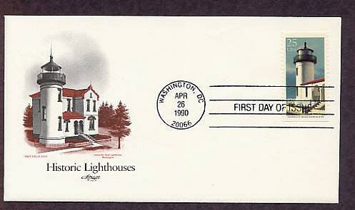 Admiralty Head Lighthouse, Washington, AM First Issue USA
