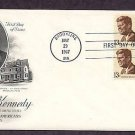 President John F. Kennedy, JFK,  Brookline, Massachusetts, AC First Issue USA