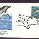 Sea Creatures, Common Dolphin, FW First Issue USA