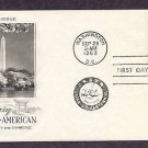 100th Anniversary of the First Treaty Between Japan and the United States, 1960 AC First Issue USA
