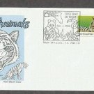 Wild Animals, White Bengal Tiger, Panthera tigris, First Issue USA