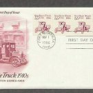Star Route Truck 1910s, Early Mail Transportation, AC First Issue USA