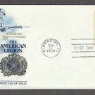 50th Anniversary of the American Legion, Veterans as Citizens, FW First Issue USA