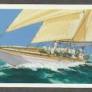 America's Cup Yacht Races, The Reliance 1903, The Ranger 1937, Postal Card First Issue USA