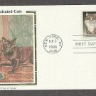 USPS Cats Stamp, Maine Coon, Burmese, CS First Issue USA