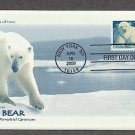 Polar Bear, Ursus maritimus, 2009 First Issue USA