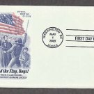 American Flag, Old Glory, Abraham Lincoln, 2009 First Issue USA