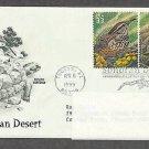 Sonoran Desert, Cactus Wren, Desert Tortoise, PCS Addressed, FDC