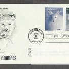 Arctic Animals, Arctic Fox, Arctic Hare, PCS, Addressed, First Issue USA