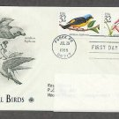 Tropical Birds, Antillean Euphonia, Green-throated Carib, Puerto Rico, PCR Addressed, First Issue