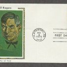 Honoring Will Rogers, Cowboy Actor and Humorist, CS First Issue USA