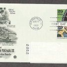 World War II 1942 Into the Battle, Women Join the War Effort, Battle of the Coral Sea, PCS, FDC
