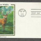 American Wildlife, Elk, CS First Issue USA