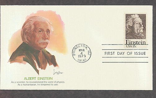 Albert Einstein, Physics Nobel Prize Winner, Relativity Science, FW 1979 First Issue USA