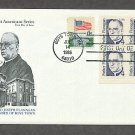 Father Edward Joseph Flanagan, Founder of Boys Town, Nebraska, Plate Block First Issue USA