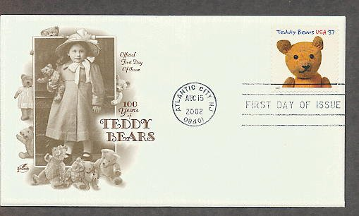Teddy Bear Centennial, Stick Bear 1920s, First Issue USA