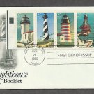 Lighthouses Admiralty Head, Cape Hatteras, West Quoddy Head, First Issue USA