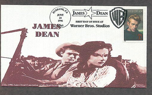 Honoring James Dean, Hollywood Legend, Heritage First Issue USA