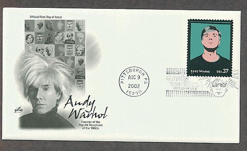 Honoring Andy Warhol, Pop Art, First Issue USA