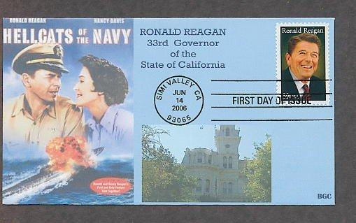 President Ronald Reagan, Hellcats of the Navy, First Issue USA