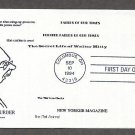 Honoring American Humorist and Cartoonist James Thurber Heritage First Issue USA