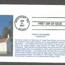 Pacific Lighthouses, Umpqua River Lighthouse, California, First Issue USA