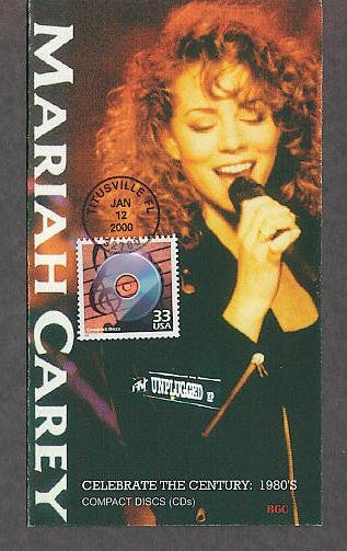 Mariah Carey First Issue USPS Celebrate the Century 1980s USA