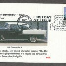 Celebrating the Century, 1950s, TAIL FINS AND CHROME, 1955 Chevrolet Bel Air, First Issue USA