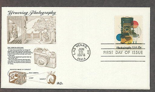 Photography, Vintage Cameras, Film, First Issue FDC USA!