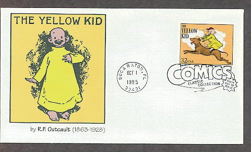 The Yellow Kid R.F. Outcault Classic Comics, First Issue USA!