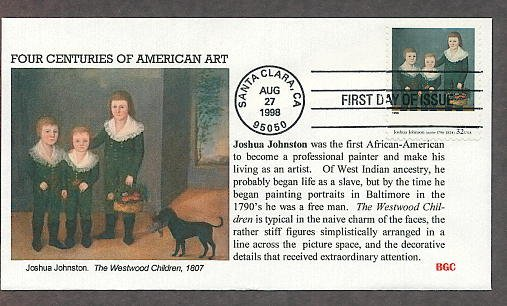 Joshua Johnson, Westwood Children, First African American Painter to Make his Living by Painting!