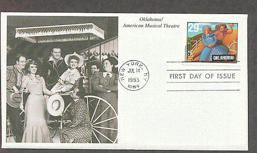Saluting Broadway Musicals, Rodgers and Hammerstein's Oklahoma!, Mystic First Issue USA!