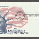 Statue of Liberty, U.S. Flag, 2005 First Day of Issue USA!