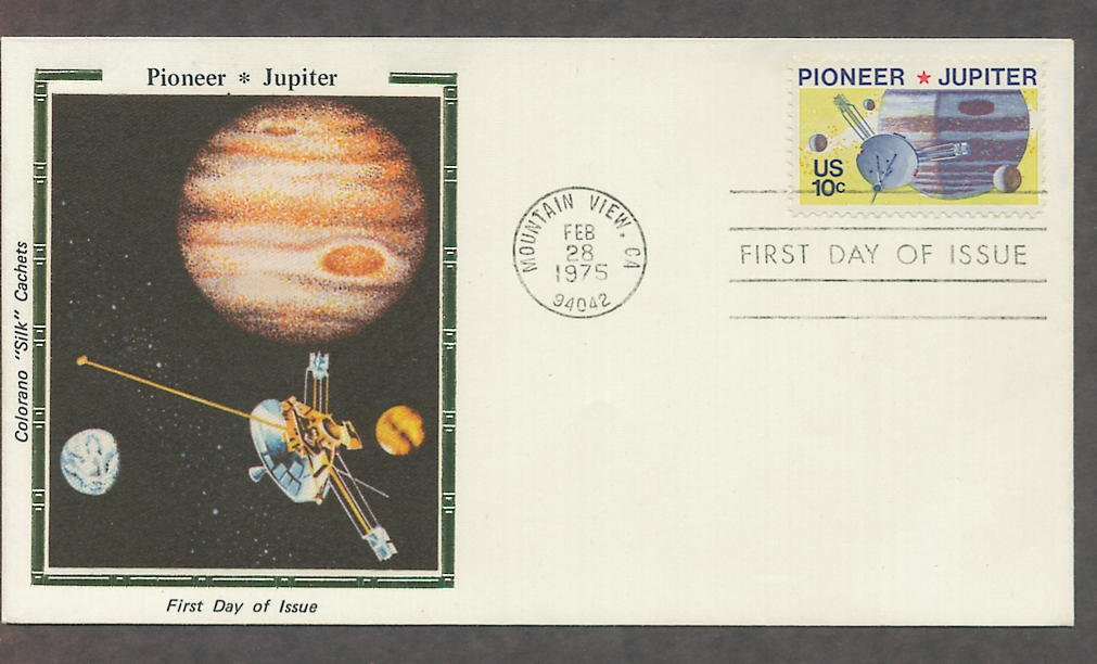 NASA Pioneer 10 Space Mission to Jupiter CS First Issue 1975 USA!