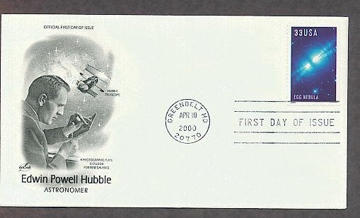 Egg Nebula, Hubble Space Telescope Images, Edwin Hubble, First Issue USA!
