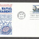 United States Naval Academy Anniversary Annapolis Gamm First Issue FDC USA!