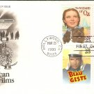 Wizard of Oz, Gone With the Wind, John Wayne,  Gary Cooper, First Issue FDC USA