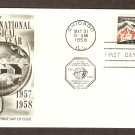 IGY International Geophysical Year, 1958, First Issue USA