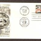 IGY International Geophysical Year, 1958, First Issue USA