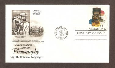 Photography, Vintage Cameras, Film, First Issue FDC USA